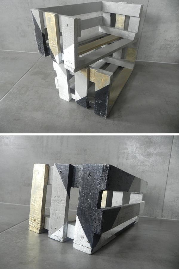 półka ze skrzynki