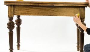 KROK II - Szlifowanie powierzchni stołu