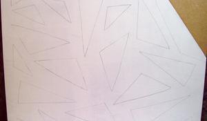 KROK III - Rozrysowanie ażurowego wzoru