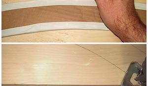 KROK II - Wycinanie elementów konstrukcji krzesła