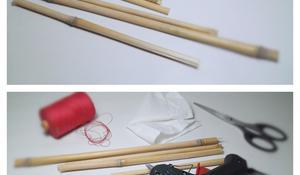 KROK I - Wybierz materiał na mebelki dla lalek